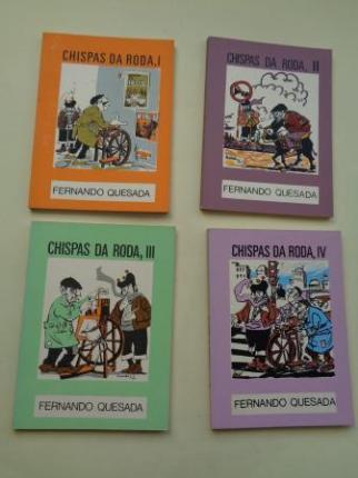 Chispas da roda I, II, III e IV (4 libros) - Ver los detalles del producto