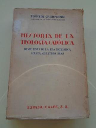 Historia de la teología católica desde fines de la Era Patrística hasta nuestros días - Ver os detalles do produto