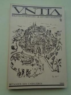 Ver os detalles de:  VNTIA. Boletín do Seminario de Estudios Mariñáns, nº 2 - 1986