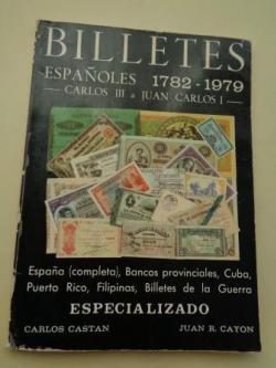 Ver os detalles de:  Billetes españoles 1782-1979. Carlos III a Juan Carlos I