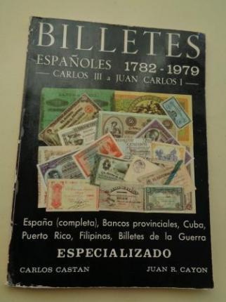 Billetes españoles 1782-1979. Carlos III a Juan Carlos I - Ver los detalles del producto