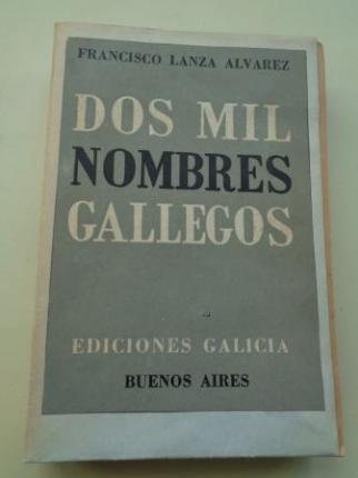 Dos mil nombres gallegos - Ver los detalles del producto