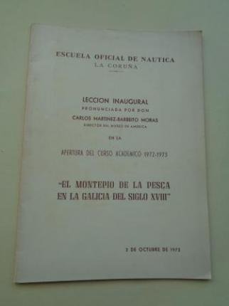 El Montepío de la pesca en la Galicia del siglo XVIII - Ver os detalles do produto