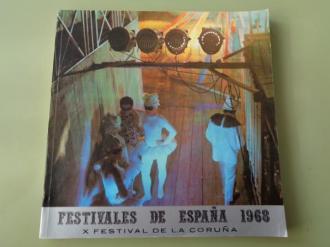 Festivales de España 1968. X Festival de La Coruña. IV Festival de Música. XVI de Amigos de la Ópera, 27 julio - 21 agosto, 1968 - Ver los detalles del producto