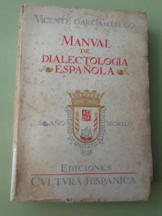 Manual de dialectología española - Ver los detalles del producto