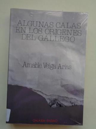 Algunas calas en los orígenes del gallego - Ver os detalles do produto