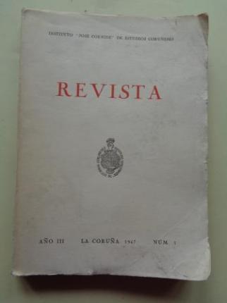 REVISTA. Instituto José Cornide de Estudios Coruñeses. Año III, Nº 3, 1967 - Ver los detalles del producto