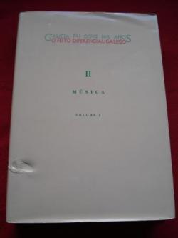 Ver os detalles de:  Galicia fai dous mil anos. O feito diferencial galego. II Música. Volume I (con un CD)