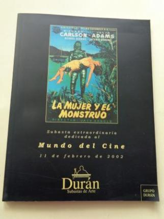 Catálogo doble. Subasta extraordinaria dedicada al Mundo del Cine, Durán Subastas de Arte, 2002 - Ver os detalles do produto