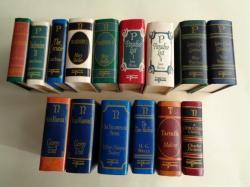 Ver os detalles de:  15 miniature books / libros miniatura. 10 títulos diferentes. Novelas en inglés. 10 Novels in english