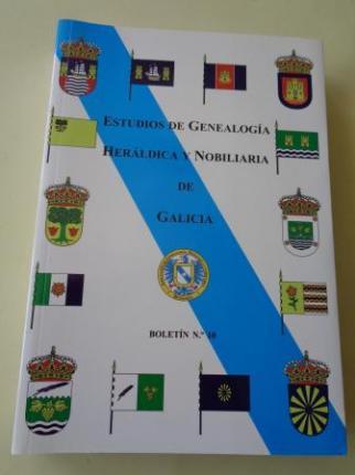 Estudios de Genealogía, Heráldica y Nobiliaria de Galicia. Boletín nº 10 - Ver los detalles del producto
