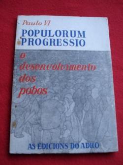 Ver os detalles de:  POPULORUM PROGRESSIO