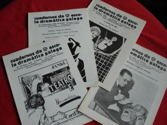 Cuadernos da Escola Dramática Galega. Números 33-35- 41-45 - Ver os detalles do produto