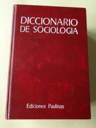 Diccionario de Sociología - Ver os detalles do produto