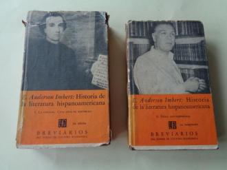 Historia de la literatura hispanoamericana. Tomo I: La colonia. Cien años de República / Tomo II: Época contemporánea - Ver os detalles do produto