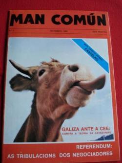 Ver os detalles de:  MAN COMÚN. Revista galega mensual de información xeral. Número 2- setembro 1980