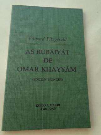 As Rubáiyát de Omar Khayyám (Edición bilingüe galego-inglés) - Ver os detalles do produto