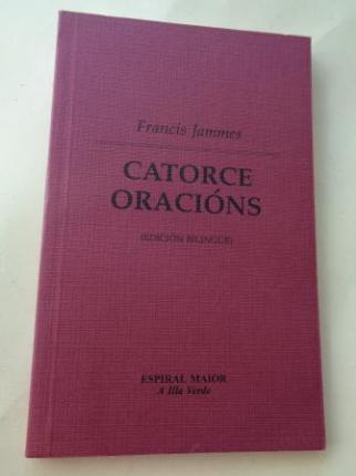 Catorce oracións (Edición bilingüe galego-francés) - Ver os detalles do produto