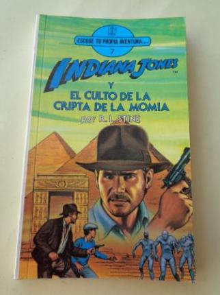 Indiana Jones y el culto de la cripta de la momia. Escoge tu propia aventura, nº 7 - Ver os detalles do produto