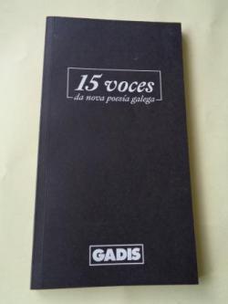 Ver os detalles de:  15 voces da nova poesía galega