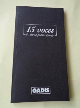 15 voces da nova poesía galega - Ver os detalles do produto