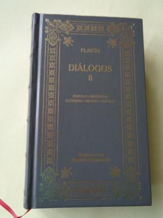 Diálogos II: Georgias - Menéxeno - Eutidemo - Menón - Crátilo - Ver os detalles do produto