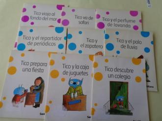 Colección Chiribitas: Tico (9 ejemplares distintos) - Ver os detalles do produto
