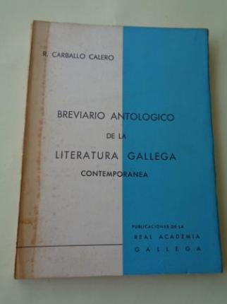 Breviario antológico de la literatura gallega contemporánea (Textos bilingües galego-castellano) - Ver os detalles do produto