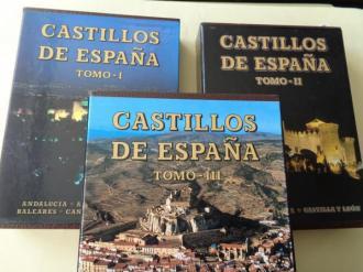 Castillos de España. 3 tomos - Ver os detalles do produto
