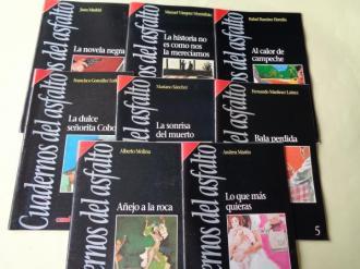 Cuadernos del asfalto. 7 títulos + Cuaderno Introdución de Juan Madrid - Ver os detalles do produto