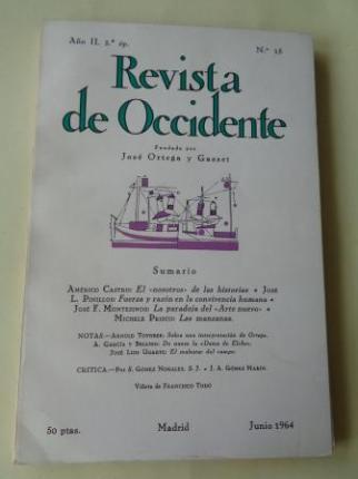 REVISTA DE OCCIDENTE. Año II. Núm. 15. Junio 1964 - Ver os detalles do produto