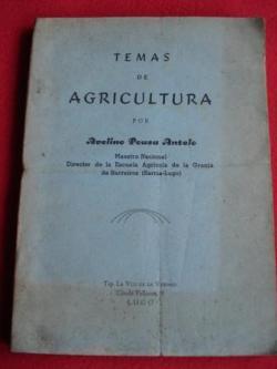 Ver os detalles de:  Temas de agricultura. Contestaciones al cuestionario escolar para Maestros