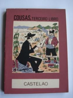 Ver os detalles de:  Cousas, terceiro libro (Edición e Limiar de Xosé Mª Álvarez Blázquez). Colección O moucho, nº 42