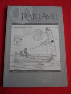 Ver os detalles de:  RAIGAME. Nº 29 - Novembro 2008. Revista de arte, cultura e tradicións populares