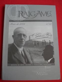 Ver os detalles de:  RAIGAME. Nº 23 - Maio 2006. Revista de arte, cultura e tradicións populares. Especial Manuel Lugrís Freire
