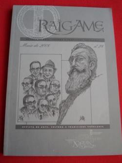 Ver os detalles de:  RAIGAME. Nº 28 - Maio 2008. Revista de arte, cultura e tradicións populares. Especial X. Mª Álvarez Blázquez