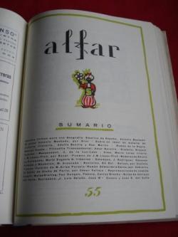 Ver os detalles de:  ALFAR (Revista de Casa América Galicia) Edición facsímile. Tomo IV. Número 50 a 58 (De Maio 1925 a Xuño 1926)