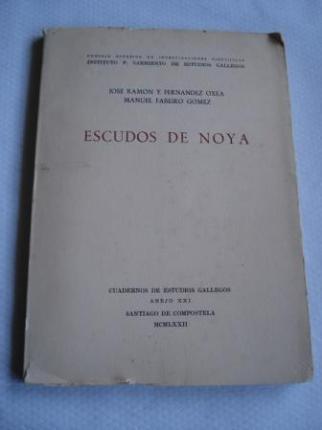 Escudos de Noya. Cuadernos de Estudios Gallegos. Anejo XXI (Noia) - Ver os detalles do produto