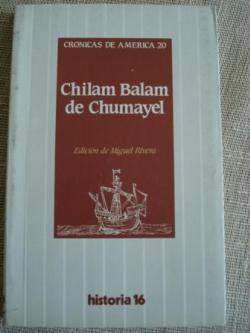 Ver os detalles de:  Chilam Balam de Chumayet