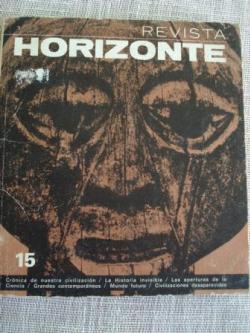 Ver os detalles de:  Revista Horizonte nº 15