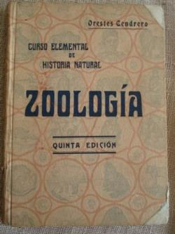 Ver os detalles de:  Zoología. Curso elemental de Historia Natural