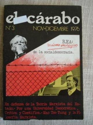 Revista El Cárabo nº 3 nov-dic 1976 - Ver os detalles do produto