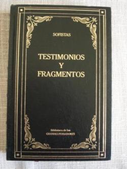 Ver os detalles de:  Testimonios y fragmentos