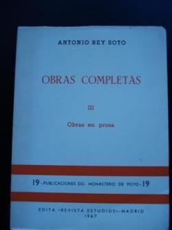 Ver os detalles de:  Obras completas III. Obras en prosa