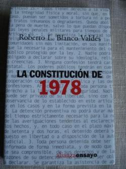 Ver os detalles de:  La Constitución de 1978
