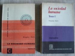 Ver os detalles de:  La sociedad humana. 2 tomos