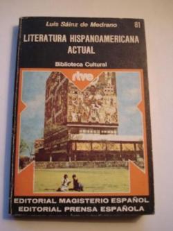 Ver os detalles de:  Literatura hispanoamericana actual