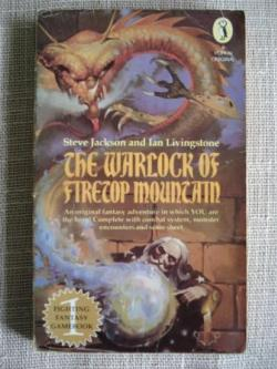 Ver os detalles de:  The Warlock of Firetop Mountain (texto en inglés)