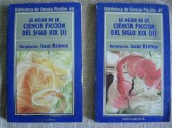 Ver os detalles de:  Lo mejor de la ciencia ficción del siglo XIX. 2 volúmenes