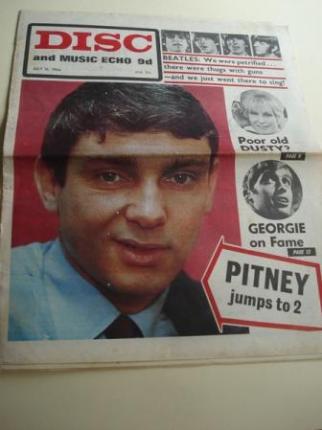 DISC AND MUSIC ECHO 9D . July, 16 - 1966. LONDON (UK) - Ver os detalles do produto